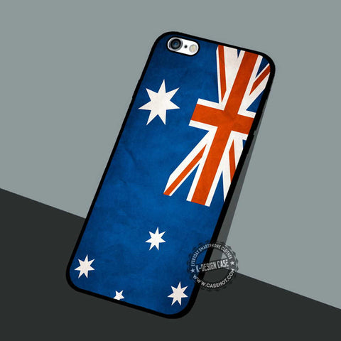 Australia Flag - iPhone 7 6 5 SE Cases & Covers