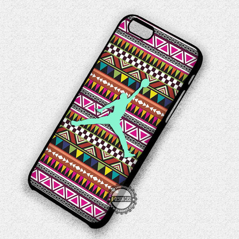 Aztec Tribal Pattern Mint - iPhone 7 6S SE 4 Cases & Covers