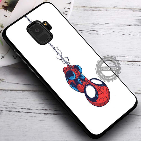 Baby Spiderman Cute - Samsung Galaxy S8 S7 S6 Note 8 Cases & Covers #SamsungS9