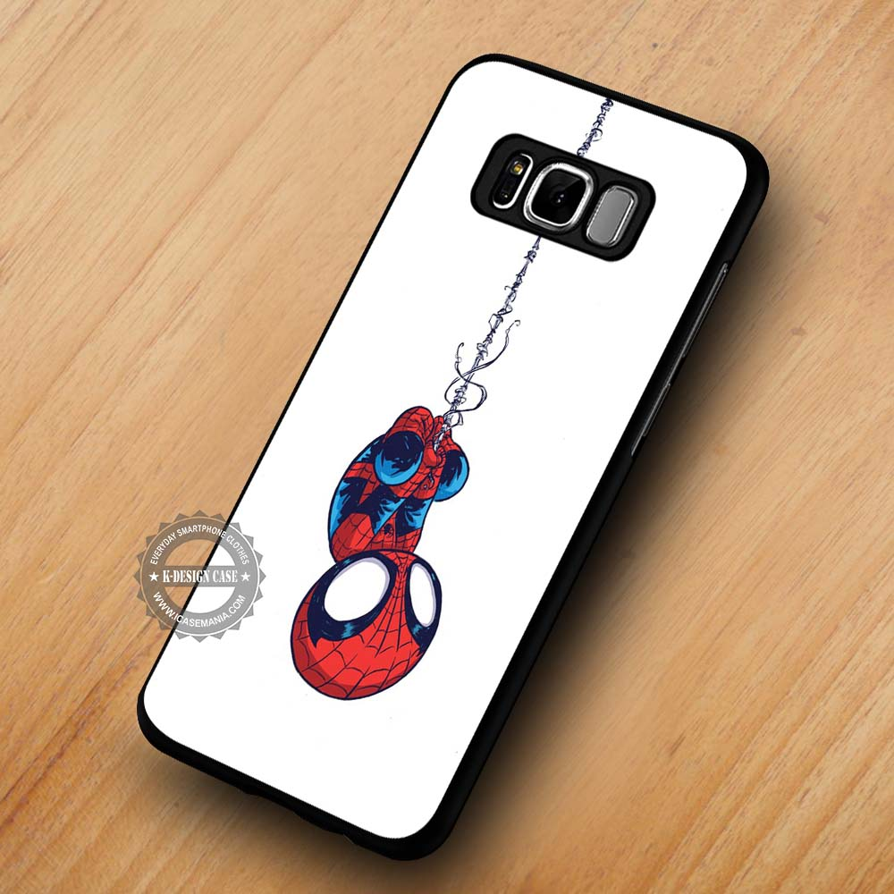 best sneakers e3a67 3407c Baby Spiderman Cute - Samsung Galaxy S8 S7 S6 Note 8 Cases & Covers  #SamsungS8