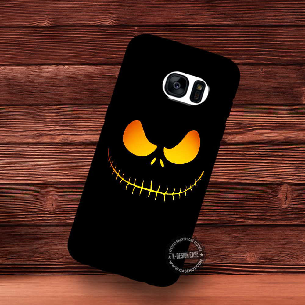 Background Black Halloween Orange Wallpaper Samsung Galaxy S7 S6 S5 Samsungiphonecases