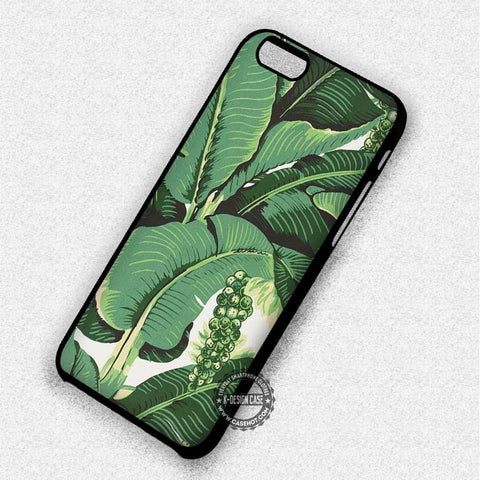Banana Leaves Green - iPhone 7 6S 5C SE Cases & Covers