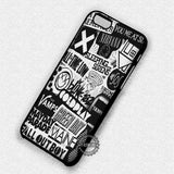 Band Collage Nirvana - iPhone 7 6S+ 5C SE Cases & Covers