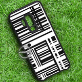 Barcode Line Stripe - Samsung Galaxy S8 S7 S6 Note 8 Cases & Covers #SamsungS9