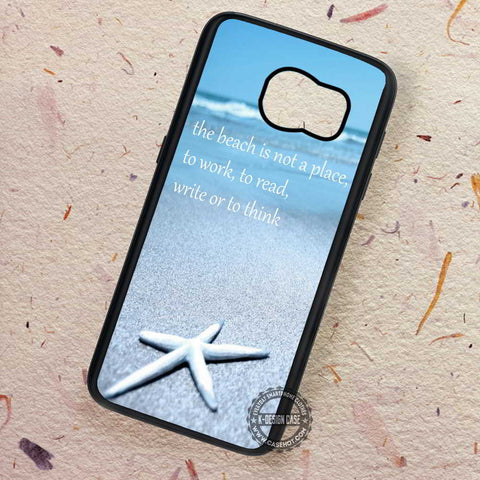 Beach Quote Starfish One Direction - Samsung Galaxy S7 S6 S5 Note 7 Cases & Covers