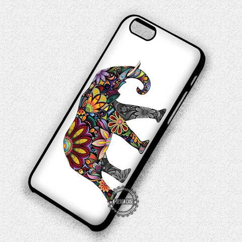 Beautiful Animal Paint Elephant Aztec - iPhone 7 6 5 SE Cases & Covers