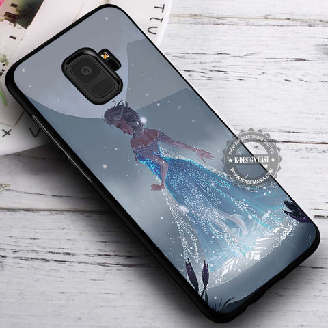 Beautiful Magic Snowdrops Frozen - Samsung Galaxy S8 S7 S6 Note 8 Cases & Covers #SamsungS9