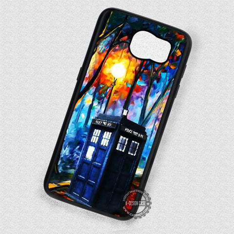 Beautiful Scenery at The Park Tardis  - Samsung Galaxy S7 S6 S5 Note 7 Cases & Covers