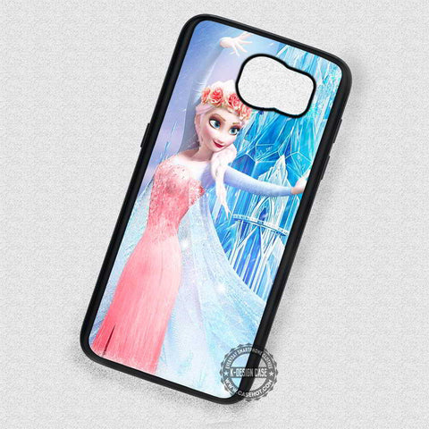 Beauty in The Snow Princess Elsa - Samsung Galaxy S7 S6 S5 Note 4 Cases & Covers