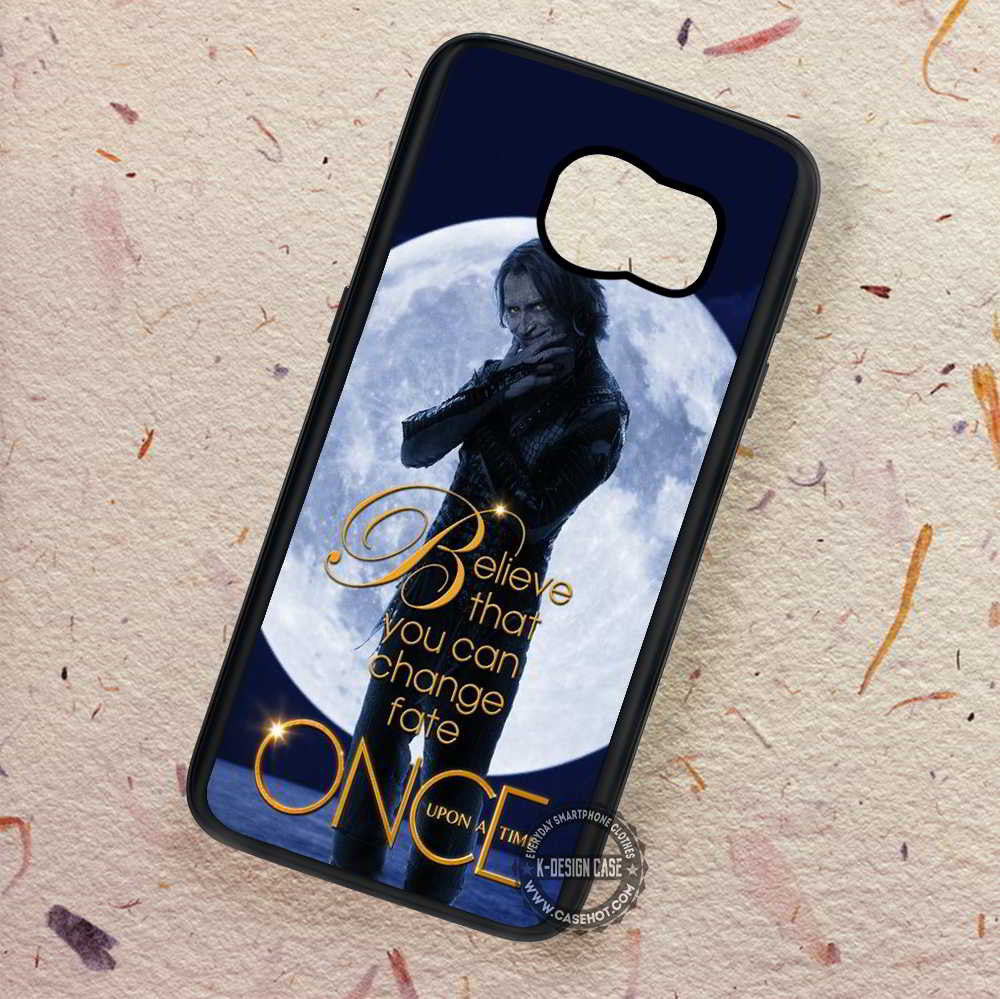 Believe Rumpelstilskin Once Upon Time - Samsung Galaxy S8 S7 S6 Note 8  Cases & Covers