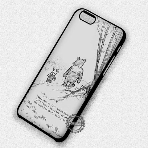 Best Friend Quote Winnie The Pooh Piglet - iPhone 7 6 Plus 5c 5s SE Cases & Covers
