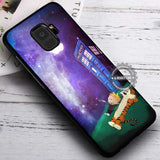 Calvin and Hobbes Tardis Nebula - Samsung Galaxy S8 S7 S6 Note 8 Cases & Covers #SamsungS9