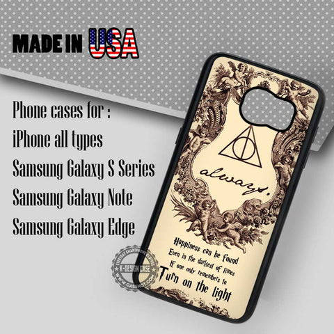 Best Quotes Harry Potter - Samsung Galaxy S7 S6 S5 Note 5 Cases & Covers