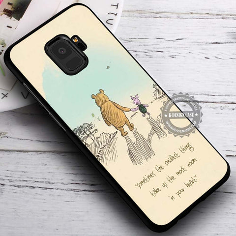 Piglet Winnie the Pooh Classic - Samsung Galaxy S8 S7 S6 Note 8 Cases & Covers #SamsungS9