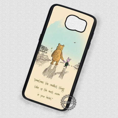 Between the Twos Piglet - Samsung Galaxy S8 S7 S6 Note 8 Cases & Covers