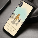 BFF Between The Twos Piglet Winnie The Pooh - iPhone X Case