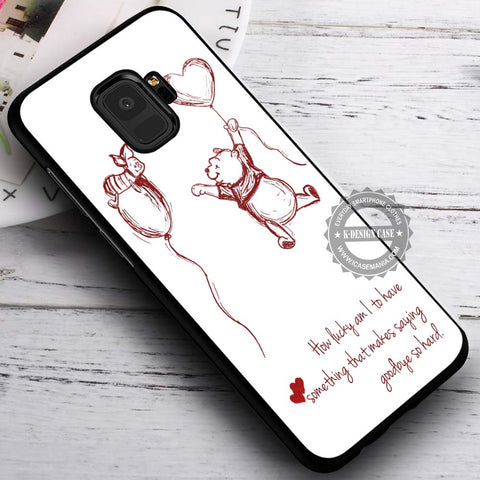 Quote Winnie the Pooh - Samsung Galaxy S8 S7 S6 Note 8 Cases & Covers #SamsungS9
