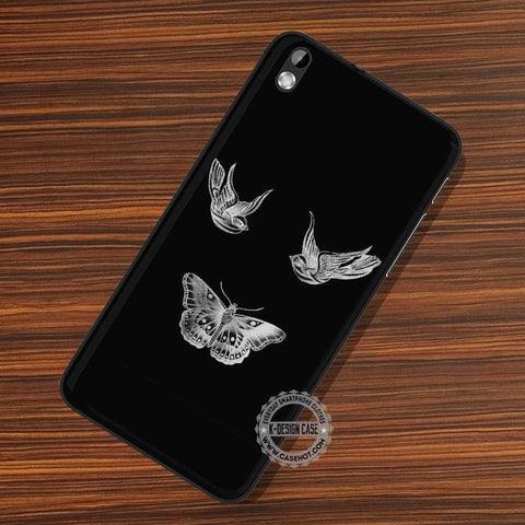Birds And Butterfly - LG Nexus Sony HTC Phone Cases and Covers