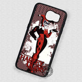 Black Mask Harley Quinn - Samsung Galaxy S7 S6 S5 Note 4 Cases & Covers
