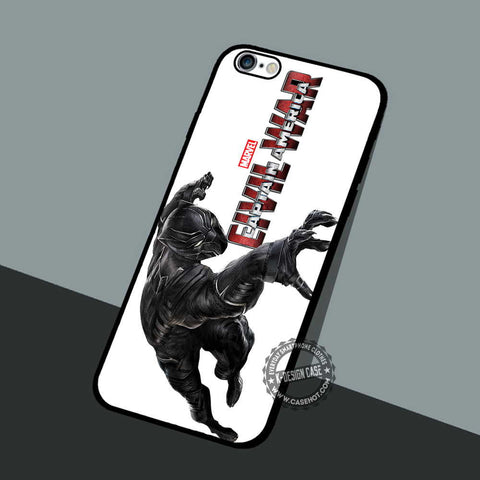 Black Panther Marvel - iPhone 6 5 Cases & Covers