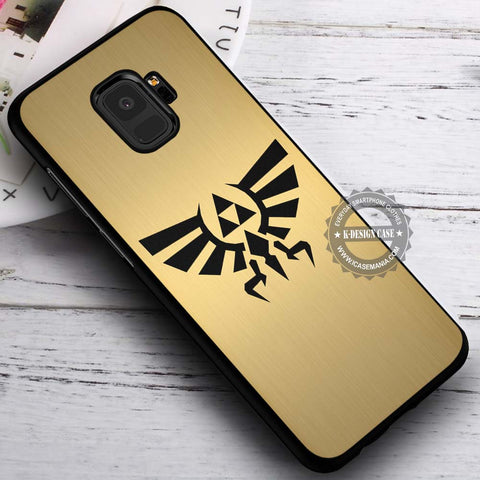 Black Symbol Zelda - Samsung Galaxy S8 S7 S6 Note 8 Cases & Covers #SamsungS9
