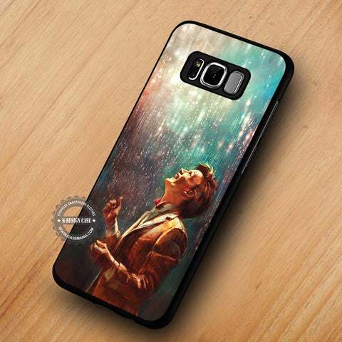Doctor Who Raining Bling Tardis - Samsung Galaxy S8 Case
