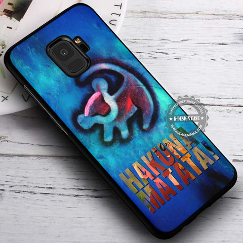 Red Tattoo on Wall Blue Simba - Samsung Galaxy S8 S7 S6 Note 8 Cases & Covers #SamsungS9
