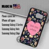 Boo You Whore - Samsung Galaxy S7 S6 S5 Note 5 Cases & Covers