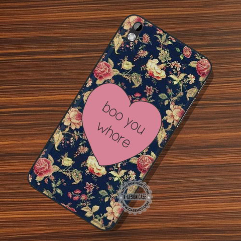 Boo You Whore - LG Nexus Sony HTC Phone Cases and Covers