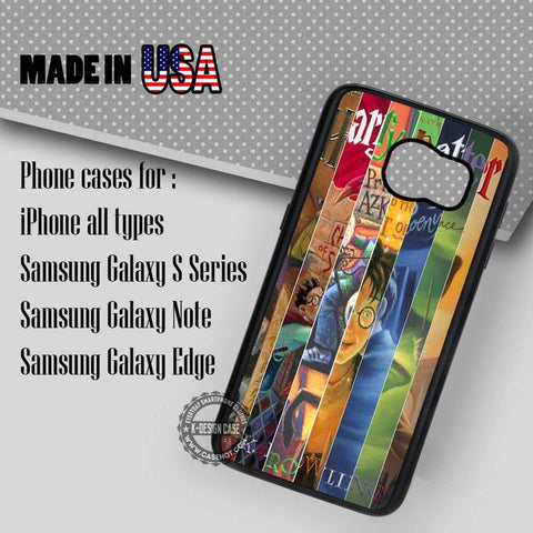Books of Rowling Harry Potter - Samsung Galaxy S7 S6 S5 Note 5 Cases & Covers