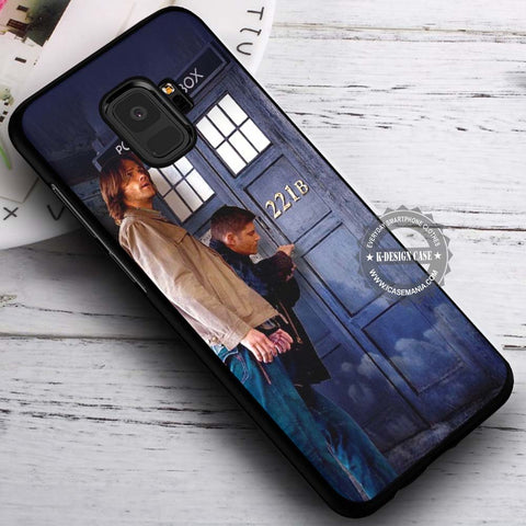 Breaking Tardis Supernatural - Samsung Galaxy S8 S7 S6 Note 8 Cases & Covers #SamsungS9
