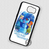 Build a Cute Snowman Olaf - Samsung Galaxy S7 S6 S5 Note 7 Cases & Covers