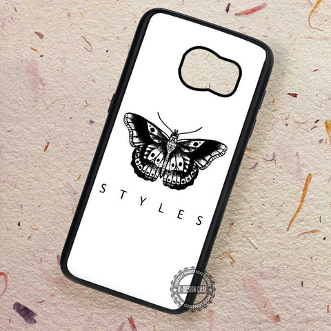 Butterfly Tattoo Harry Styles - Samsung Galaxy S7 S6 S5 Note 7 Cases & Covers