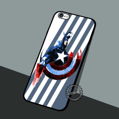 Captain The Avengers - iPhone 7 6 5 SE Cases & Covers