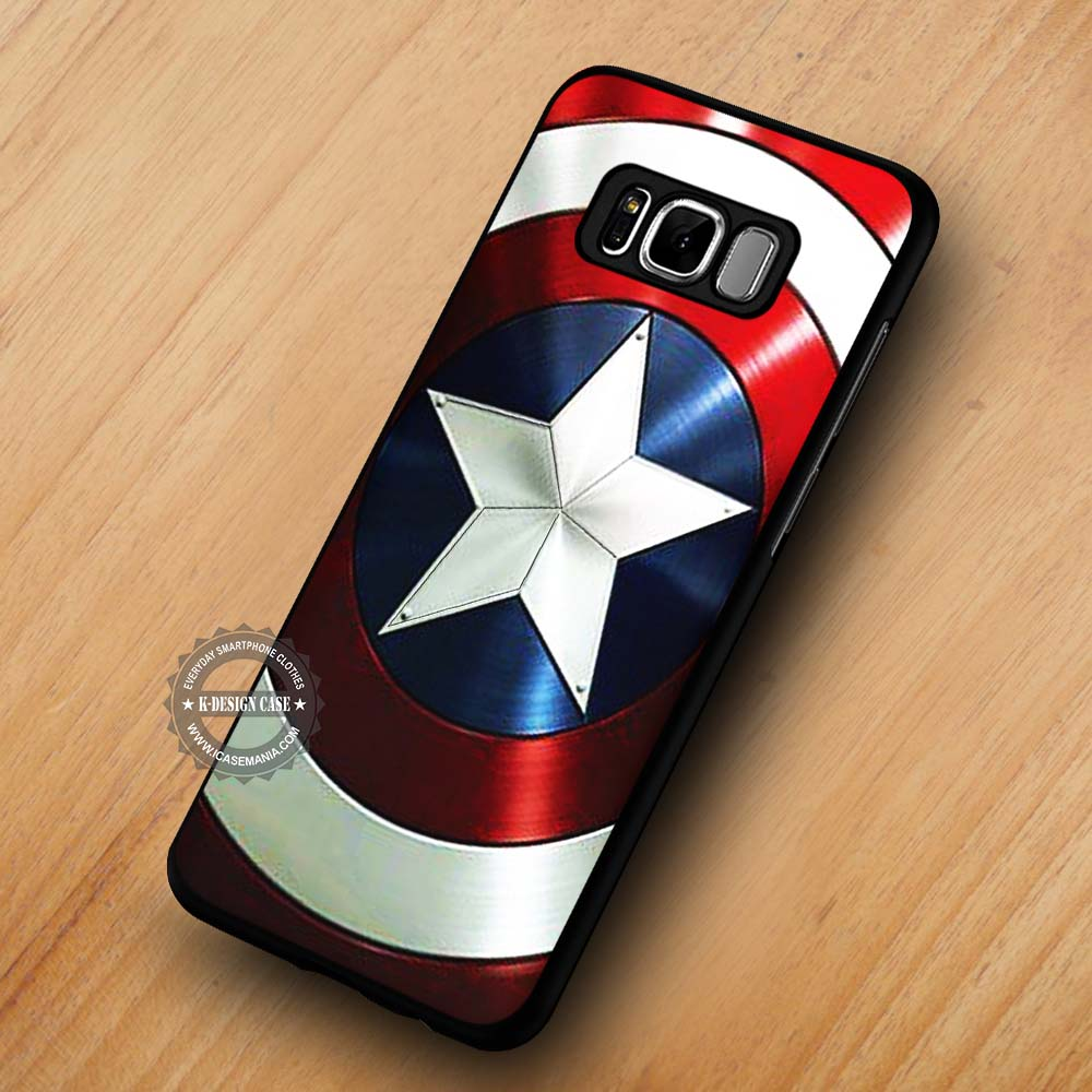 buy online c556b 507e2 Captain America's Shield The Avengers - Samsung Galaxy S8 S7 S6 Note 8  Cases & Covers #SamsungS8