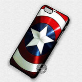 Captain America's Shield - iPhone 7 6 Plus 5c 5s SE Cases & Covers