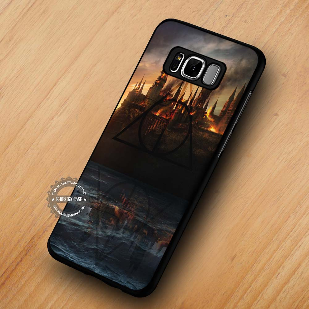 more photos 311a2 535e4 Castle in Fire Harry Potter - Samsung Galaxy S8 S7 S6 Note 8 Cases & Covers  #SamsungS8