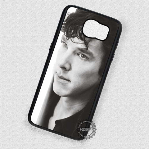 Classic Photo Benedict Cumberbatch Sherlock Holmes - Samsung Galaxy S6 S5 S4 Note 5 Cases & Covers