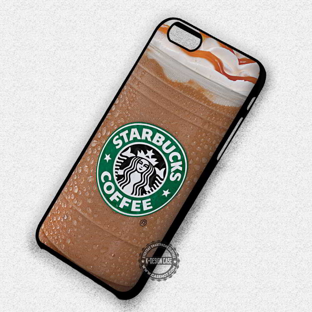 new product e7c73 2a1ce Coffee Cup Caramel Ice Starbucks - iPhone 7 6s 5c 4s SE Cases & Covers