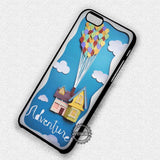 Collage Art Flying House Disney Up - iPhone 7 6 Plus 5c 5s SE Cases & Covers