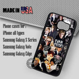 Collage Guy Evan Peters - Samsung Galaxy S8 S7 S6 Note 8 Cases & Covers