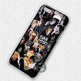 Collage Guy Evan Peters - iPhone X 8+ 7 6s SE Cases & Covers
