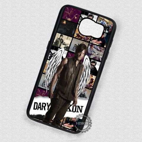 Collage Inspired Hunter Daryl Dixon - Samsung Galaxy S7 S6 S5 Note 5 Cases & Covers