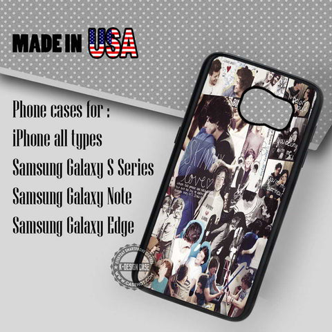 Collage Larry Louise Tomlinson - Samsung Galaxy S7 S6 S5 Note 5 Cases & Covers