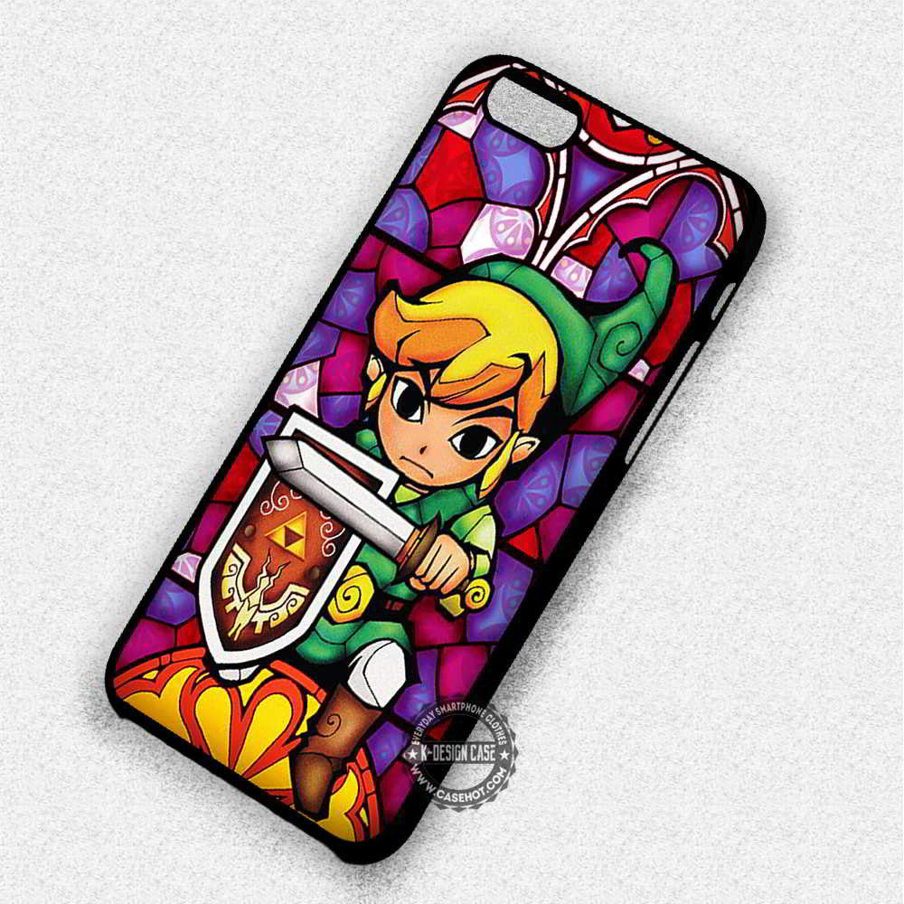 zelda stained glass iphone case