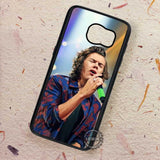 Cool Singing On Stage Harry Styles - Samsung Galaxy S7 S6 S5 Note 7 Cases & Covers