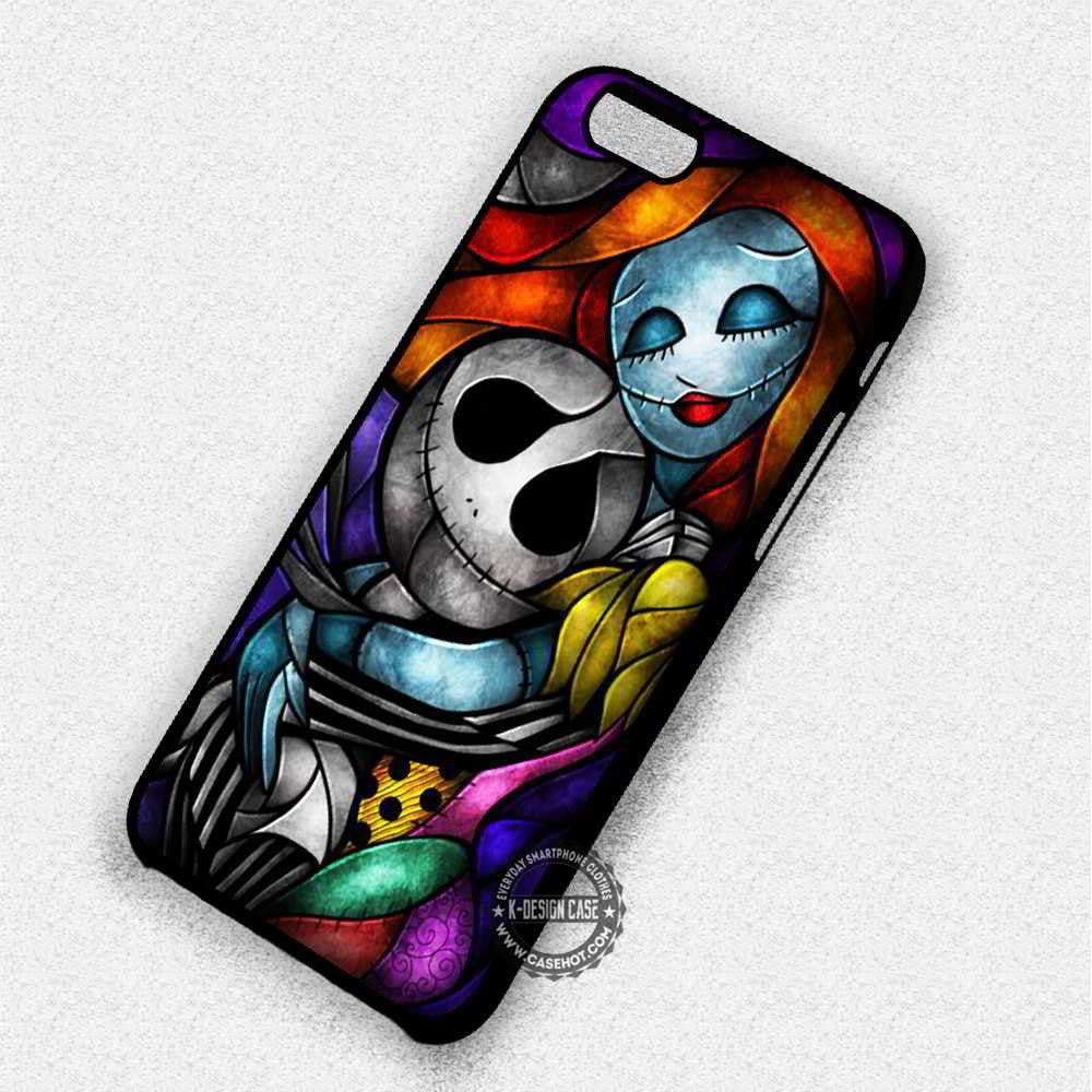 Couple Stained Glass Jack Skellington Nightmare Before Christmas ...