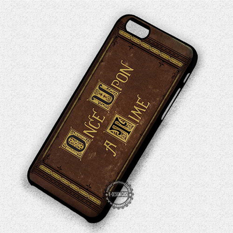 Cover Book Once Upon A Time - iPhone 7 6 Plus 5c 5s SE Cases & Covers