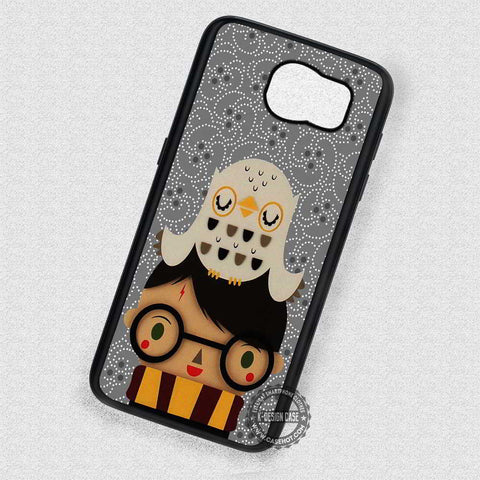Cute Kid and His Owl Harry Potter - Samsung Galaxy S8 S7 S6 Note 8 Cases & Covers