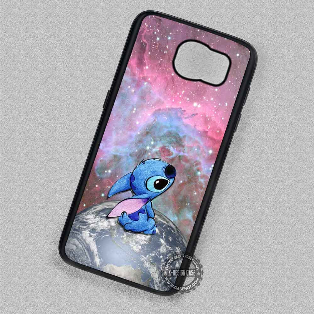 purchase cheap ed4e0 85dc9 Cute Planet Nebula Lilo and Stitch - Samsung Galaxy S7 S6 S5 Note 7 Cases &  Covers